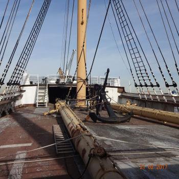 SS Peking in New York