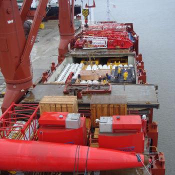 Stückgutverladung Ölindustrie