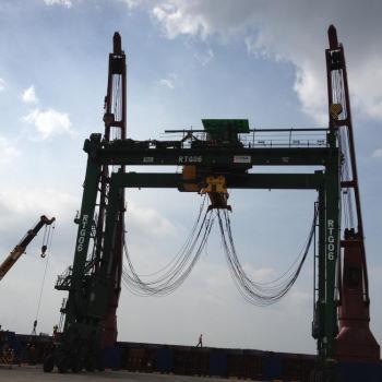 RTG loading - Vietnam